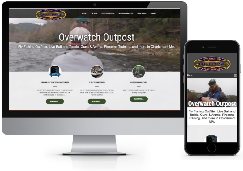 Overwatch Outpost Web Design - Charlemont MA
